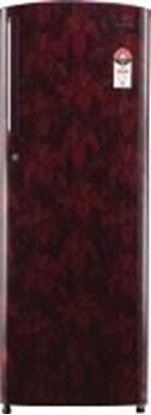 Picture of VIDEOCON REFRIGERATOR VZ225USCLR-FDA LILY ART RED